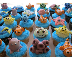 cupcakes and finding nemo image