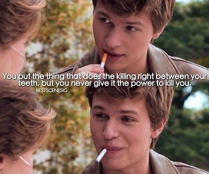 the fault in our stars, hazel, and metaphor image