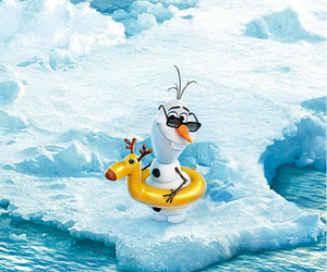 frozen, olaf, and funny image