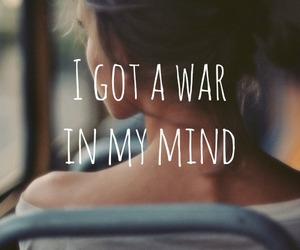 in, war, and mind image
