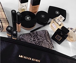 chanel, Michael Kors, and makeup image