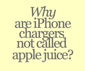 iphone, funny, and apple image