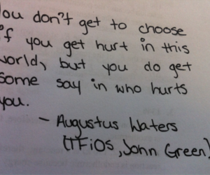 tfios, john green, and augustus waters image