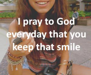 god and smile image