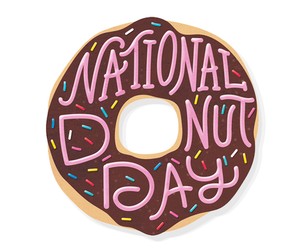 donuts, day, and food image