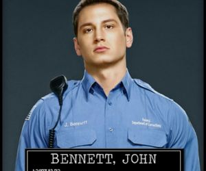 cop, Hot, and bennett image