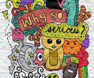 colorfull, doodle, and doodles image