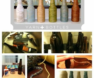 bottle, craft, and creative image