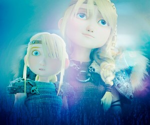 astrid, dreamworks, and how to train your dragon image