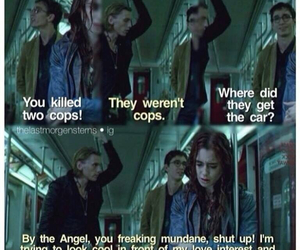 cool, the mortal instruments, and love image