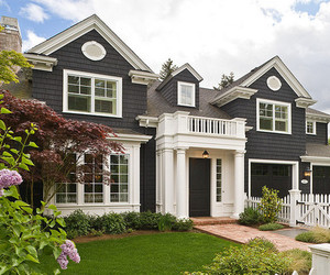 lawn, house, and cute image