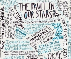 okay, the fault in our stars, and love image