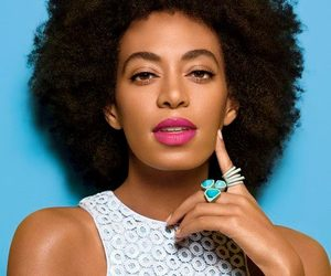 Afro, beauty, and solange image