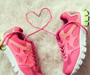 exercise, girly, and heart image