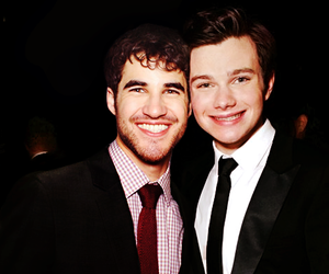 aw, darren criss, and chris colfer image