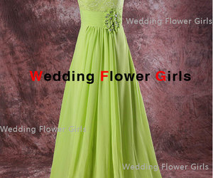 long prom dress, formal evening dress, and lace prom dress image