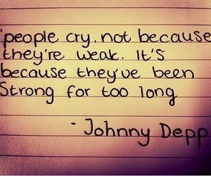 cry, johnny depp, and people image
