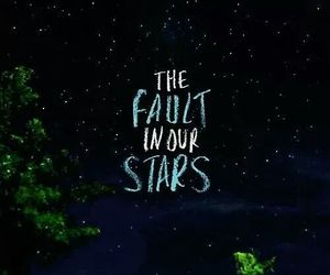 night, sky, and the fault in our stars image