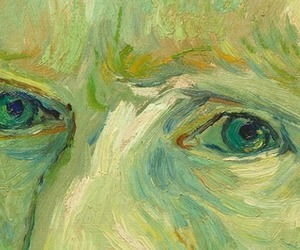 eyes and van gogh image