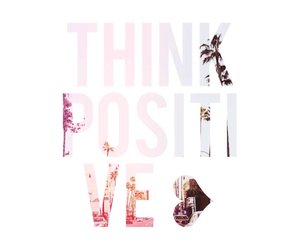 positive and think image