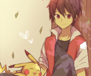 red and pikachu image