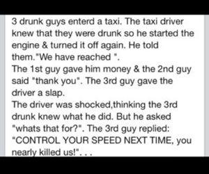 drunk, hilarious, and joke image