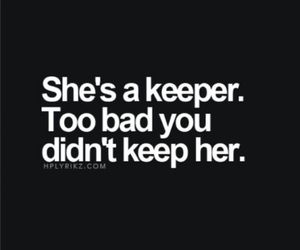 love, keeper, and quotes image