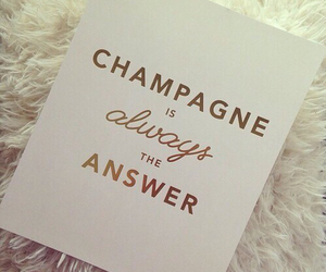 champagne, luxury, and answer image