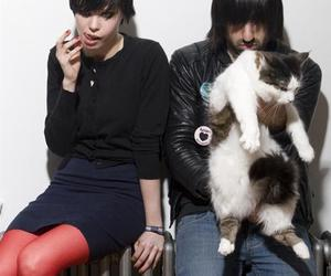 Alice Glass, Crystal Castles, and cat image