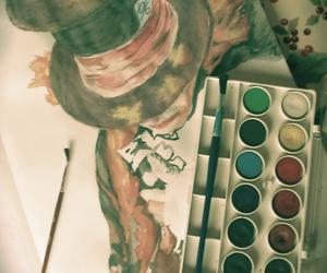 art, alice in wonderland, and mad hatter image