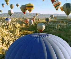 baloon, photography, and love image