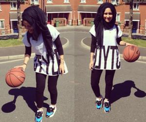 hijab and Basketball image
