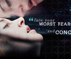 divergent, tris, and fear image