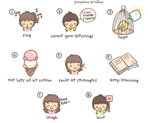 love, cute, and to do list image