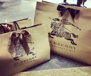 Burberry, luxury, and shopping image