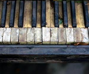 old, piano, and cute image