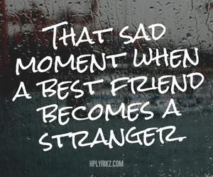 sad, strangers, and best friends image