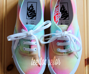 vans, colors, and hipster image