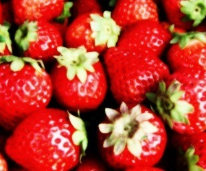 header, red, and strawberries image