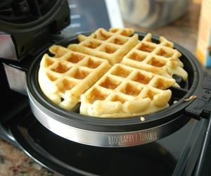 waffles, food, and yum image