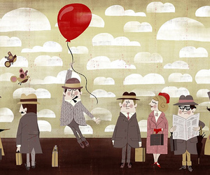 ballon, illustration, and ilustrista image