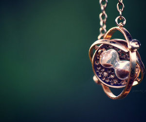 harry potter, time, and necklace image