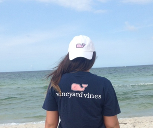 beach, ocean, and preppy image