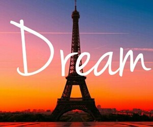 Dream, eiffel tower, and paris image