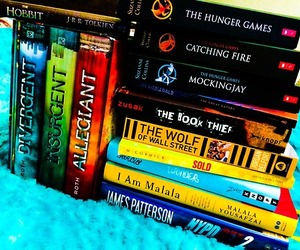 books, the book thief, and james patterson image