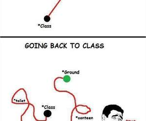 class, funny, and lol image
