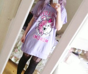 pastel goth, pastel, and cute image