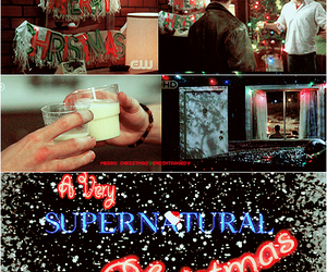 christmas, supernatural, and dean winchester image