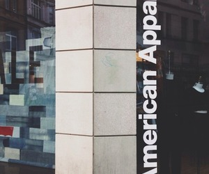 american apparel, black, and shopping image