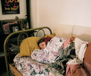asleep, girl, and skye image